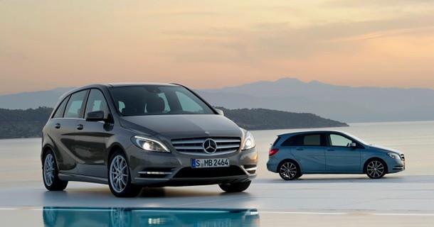 De officielle billeder af Mercedes B-klasse MPV