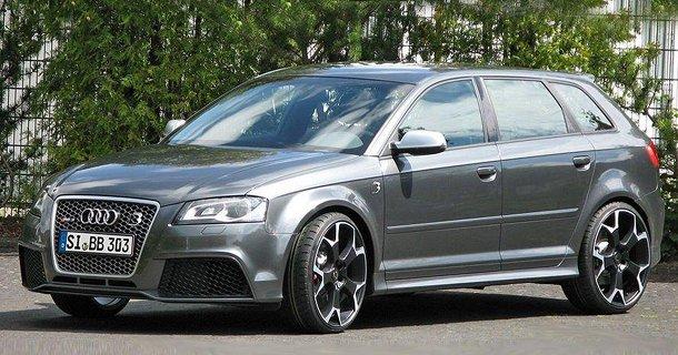 B&B tuner Audi RS3 til 510 hk!