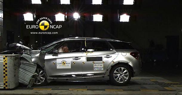 9 ud af 10 nye biler får topkarakter i Euro NCAP!