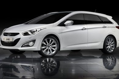Hyundai i40 foran – Danmarkspremiere