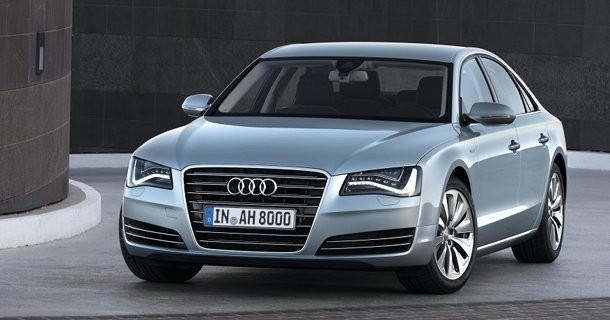 Audi A8 hybrid kører 15,6 km/l