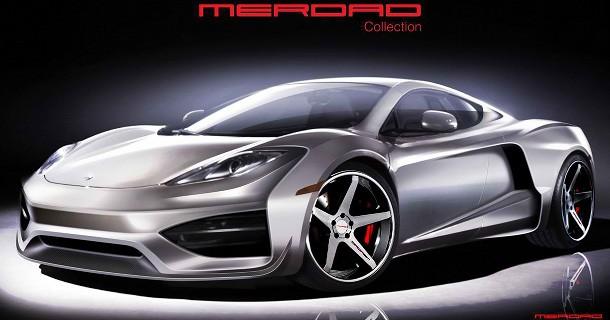 Merdad offentliggøre deres forandringer af McLaren MP4-12C