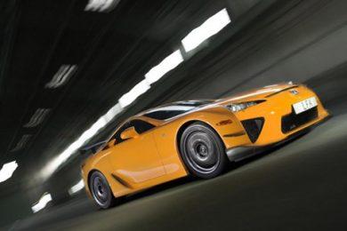 Lexus LFA har hurtigste tid for produktionsbiler på Nürburgring
