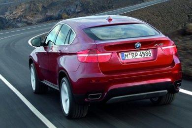 BMW X6 bagfra