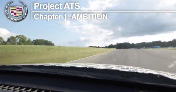 Video med Cadillac ATS