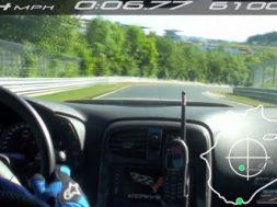 corvette zr1 paa nurburgring og god tid
