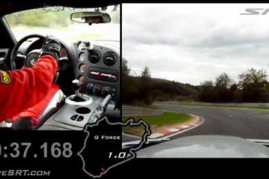 Dodge Viper SRT10 ACR på Nürburgring