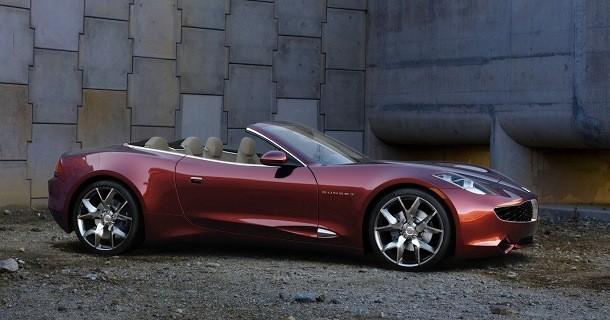 Fisker Sunset convertible er klar til 2013