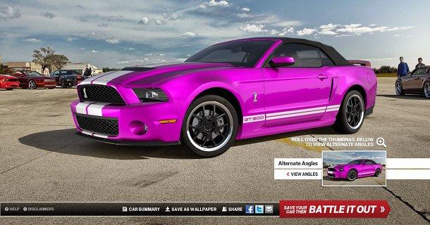 Kan du designe den fedeste Ford Mustang?