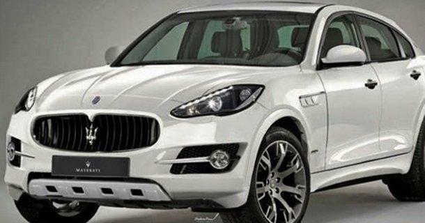 Billede af Maserati SUV koncept!