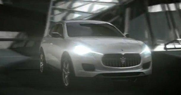 Første video af Maserati Kubang – Video