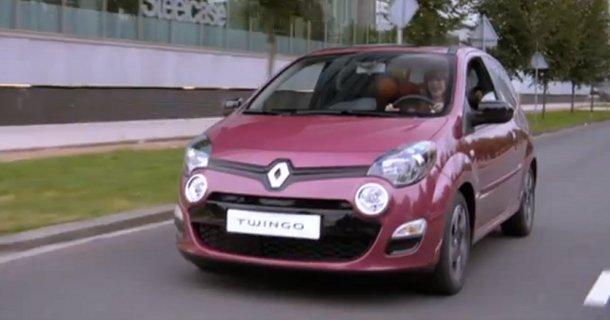 Første video af den nye Renault Twingo 2012 – Video