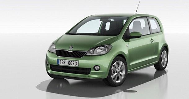 Skoda offentliggør Citigo baseret på VW Up!