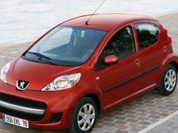 Spar min. 15.000 kr. på Peugeot 107