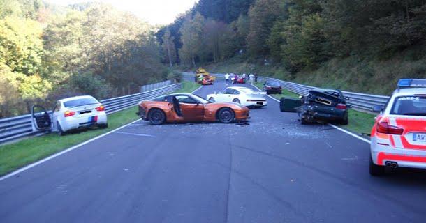 Stor ulykke på Nürburgring
