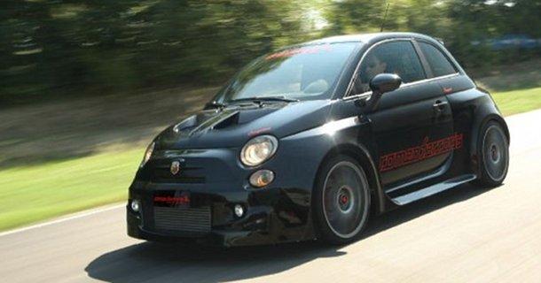 Fiat 500 med 300 hestekræfter!