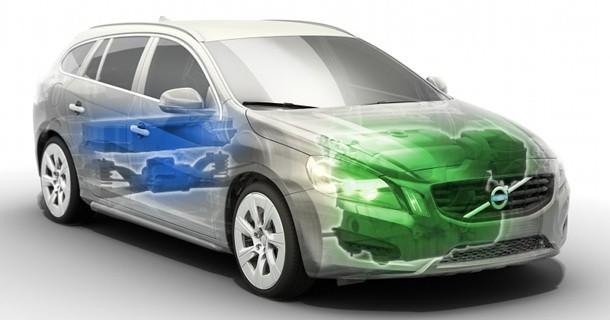 Volvo V60 Plug-in Hybrid er klar til 2012