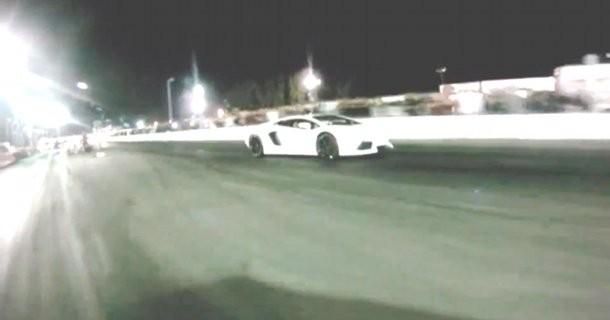 Tunet Nissan GT-R giver Lamborghini Aventador LP 700-4 baghjul! – Video