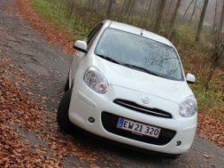 Nissan Micra 1.2 DIG-S test af bilsektionen.dk