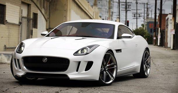 Gensyn med Jaguar C-X16 koncept i Los Angeles