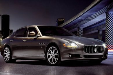 Regeringen køber 19 Maserati Quattroporte