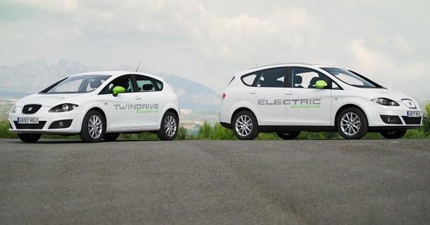 SEAT Altea XL ev og SEAT Leon hybrid