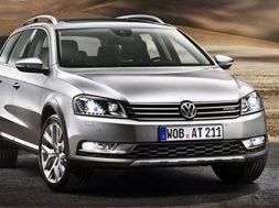 Volkswagen Passat alltrack model