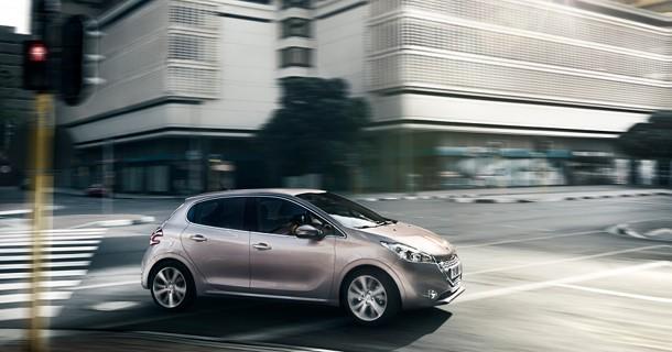 Billeder af den nye Peugeot 208