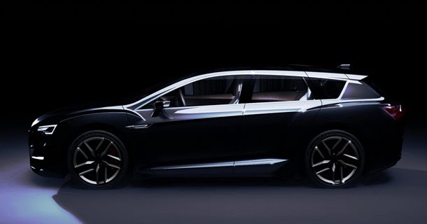 Den næste generation af Subaru Legacy?