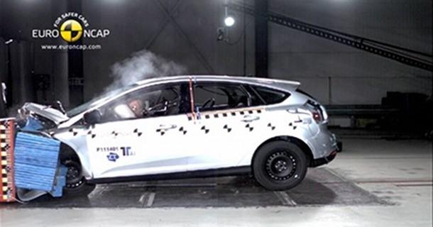 Ford Focus slår rekord med Euro NCAP-priser! – Video