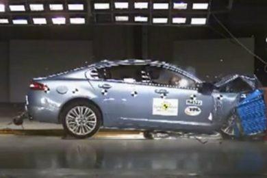 jaguar xf i euro ncap test