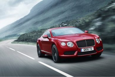 Bentley Continental V8 model