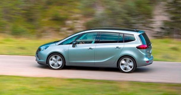 Opel introducerer Zafira på naturgas