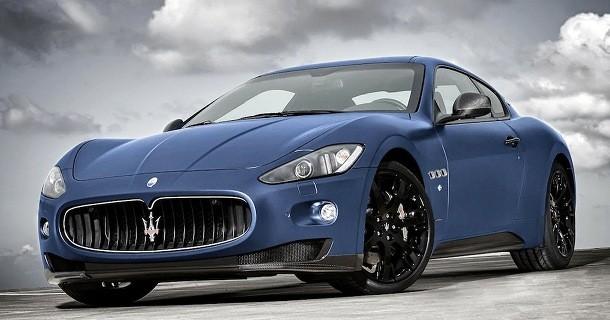 Maserati GranTurismo S Limited Edition offentliggjort