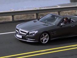 mercedes sl i video 2011