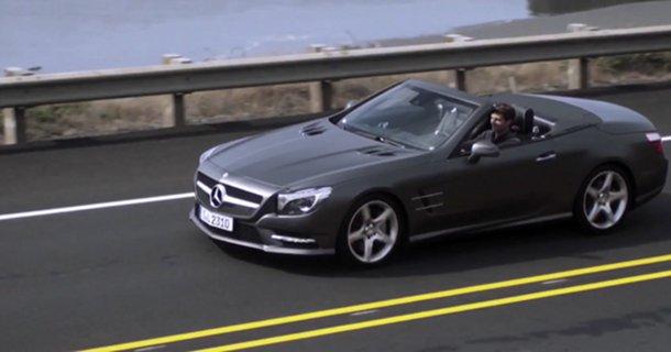 Mercedes SL 2012 får debut på Youtube – Video