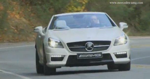 Mercedes offentliggør film af SLK 55 AMG – Video