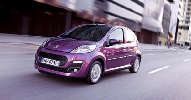 Se den nye og mere moderne Peugeot 107