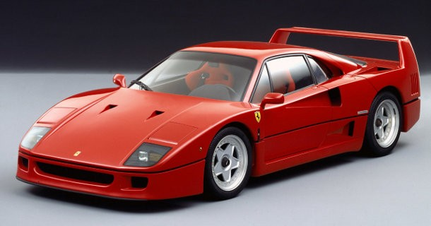Voldsom Ferrari F40 – Video