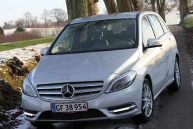 Mercedes b-klasse 2012 test