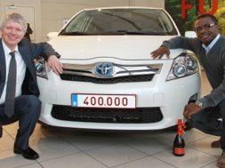 Toyota har solgt mere end 400.000 hybridbiler i Europa