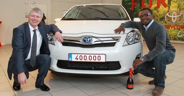 Toyota har solgt 400.000 hybridbiler i Europa