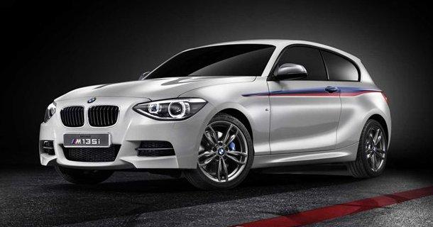 BMW viser den nye M135i