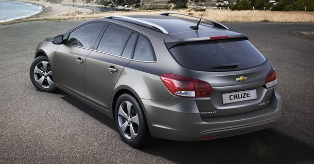Chevrolet Cruze SW offentliggjort