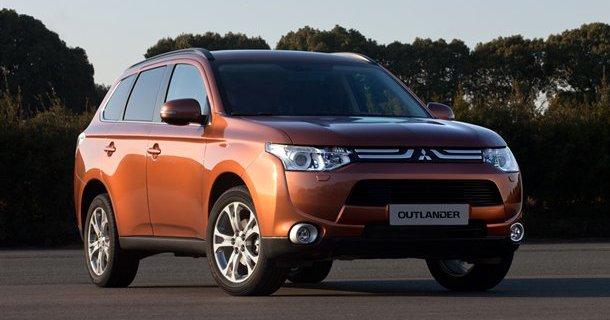 Mitsubishi viser den nye Outlander