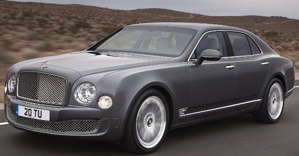 320 km/t i en Bentley – Video