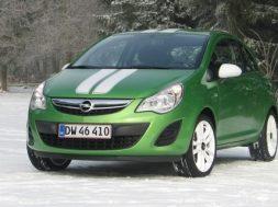Opel Corsa forfra