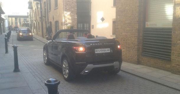 Spionbillede af Range Rover Evoque Cabriolet
