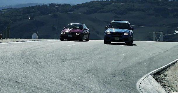 Kan BMW X5M følge med M3 Coupé? – Video
