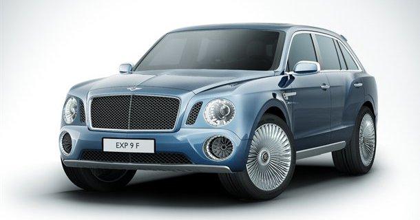 Her er den nye Bentley SUV